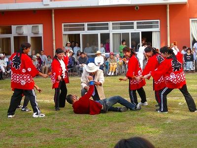 松尾病院  スポーツ  大会  夏  仮装行列  ヨサコイ祭り  松茸ご飯